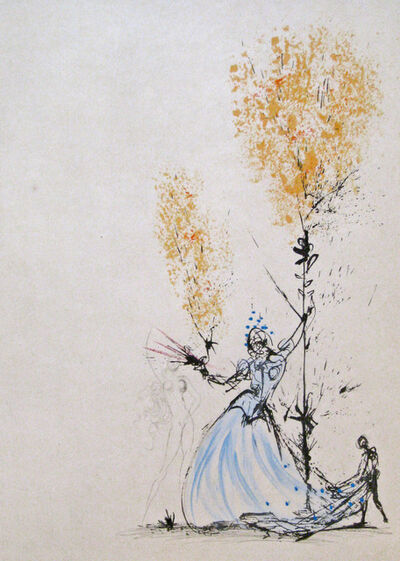 Salvador Dalí, 'Woman and Page', 1968