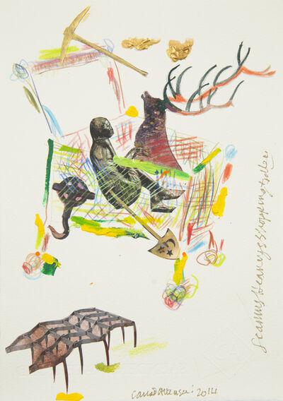 Conrad Atkinson, 'Seamus Heaney's Shopping Trolley', 2014