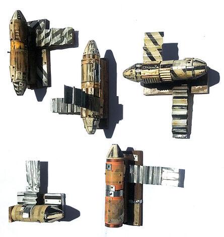Simon Vega, 'Third World Mini Space Modules', 2021