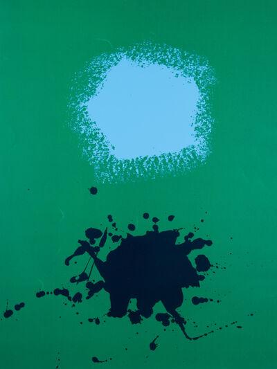 Adolph Gottlieb, 'Blues on Green', 1970
