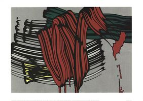 Roy Lichtenstein, 'Big Painting #6', 2000