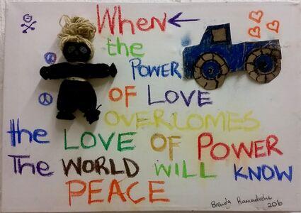 Brenda Ramadiehe, 'Love + Power', 2016