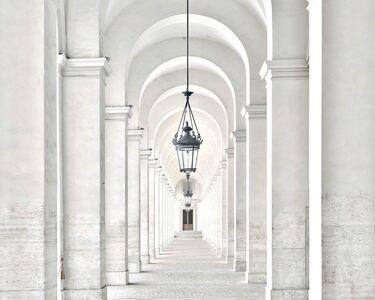 Massimo Listri, 'Palazzo del Quirinale Portico del Cortile d'Onore', 2015