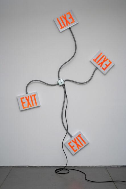 Matthew McCaslin, 'Exit', 2008