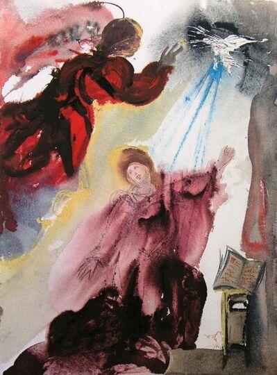 Salvador Dalí, 'The Annunciation To Mary', 1967