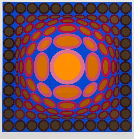 Victor Vasarely, 'Tri-Vega', 1975