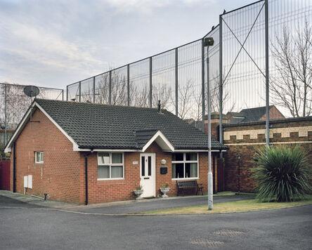 Yishay Garbasz, 'Kirk Crescent, Protestant neighborhood, Belfast', 2014