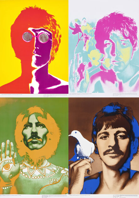 Richard Avedon, 'The Beatles (4 works)', 1967