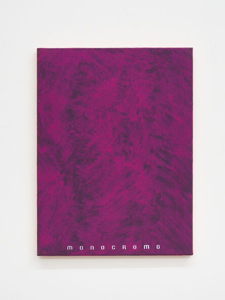 Davide Mancini Zanchi, 'Untitled (monocromo)', 2020