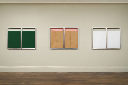Christo, 'Double Show Window', 1972
