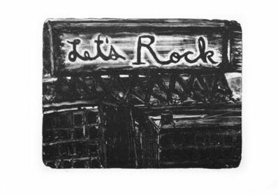 David Lynch, 'Let's Rock', 2010