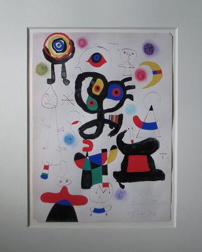 Joan Miró, 'Untitled Composition ', 1952