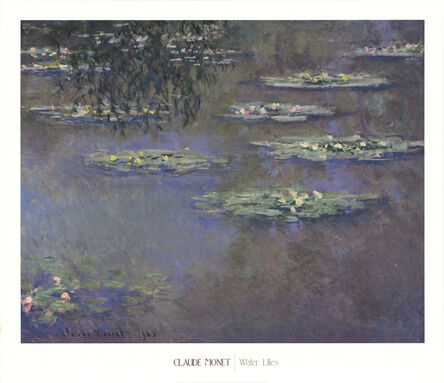 Claude Monet, 'Water Lilies', 2001