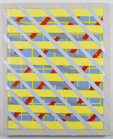 "Timothy Harding, '30"" x 24"" on 33"" x 27""', 2016"