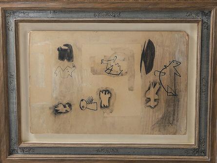 Henry Moore, 'Original Henry Moore O.M., C.H. Studies for Sculpture 1936', 1963