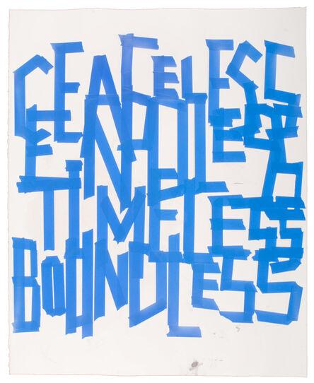 Todd Norsten, 'Ceaseless, Endless, Timeless, Boundless', 2010