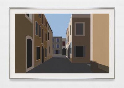 Julian Opie, 'French Village 4.', 2021