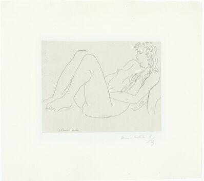 Henri Matisse, 'Nu au collier et aux cheveux longs', 1920