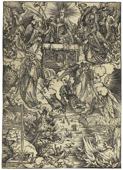 Albrecht Dürer, 'Die sieben Posaunenengel (The Seven Angels with Trumpets)', 1498