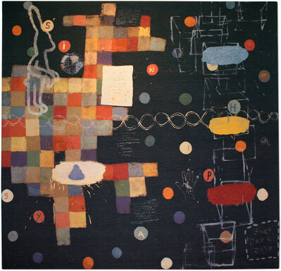 Squeak Carnwath, 'Still Happy', 2003