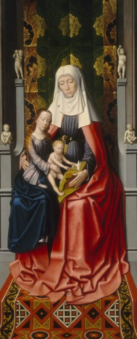 Gerard David and Workshop, 'The Saint Anne Altarpiece: Saint Anne with the Virgin and Child [middle panel]', ca. 1500/1520