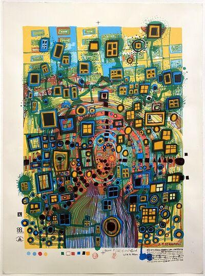 Friedensreich Hundertwasser, 'Stadtstädter (City Citizen)', 1994