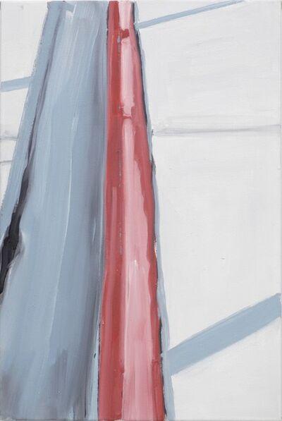 Koen van den Broek, 'Red Border, Grey Shadows, Fort Worth', 2009