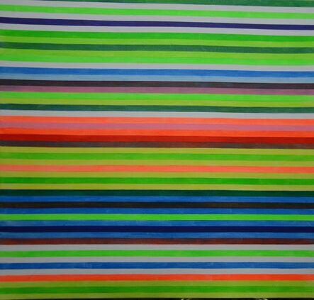 Ihosvanny Cisneros, 'Distortion 2, Horizontal Lines', 2018