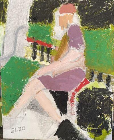 Lindsay, 'Lady on a Park Bench', 2020