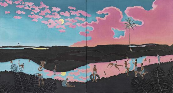 Adam de Boer, 'Berenang Malam', 2021