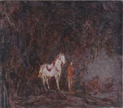 Wang Yabin, ' White Horse', 2017