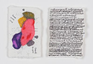 Denise Schellmann, 'Diptychon nullkommanul', 2020