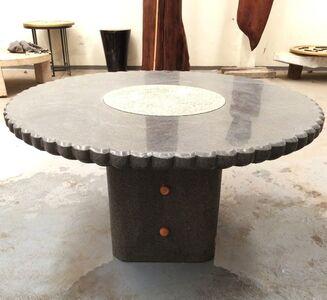 Eduardo Olbés, 'Table with Lazy-Susan', 2015