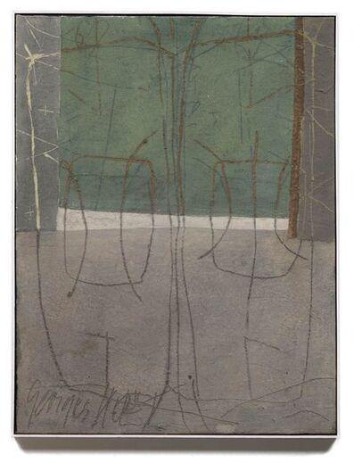 Georges Noël, 'Palimpseste zones de pensée', 1962