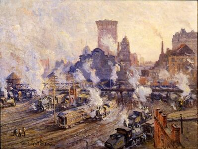 Colin Campbell Cooper, 'Old Grand Central Station', 1906