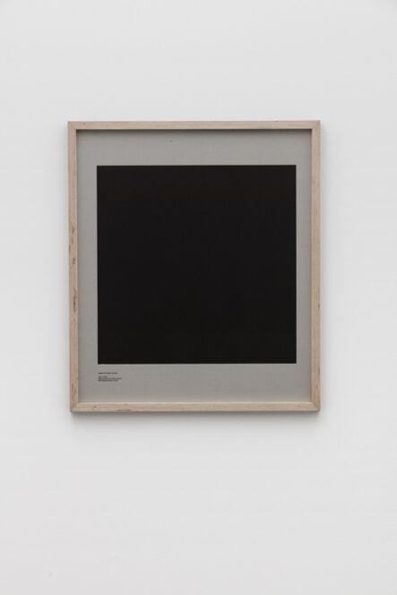 E.B. Itso, 'Loop Holes (Joaquin El Chapo Guzman, July 11. 2015, Altiplano Maximum Prison, Mexico, hole measures 50 x 50 cm)', 2016