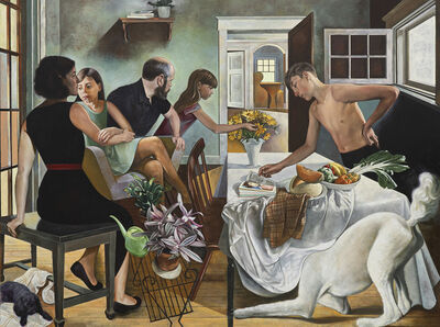 Jeremy Long, 'Family Group with Still Life', 2018-2021
