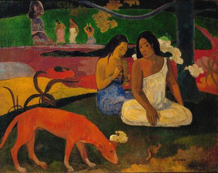 Paul Gauguin, 'Arearea ou Joyeusetes', 1892
