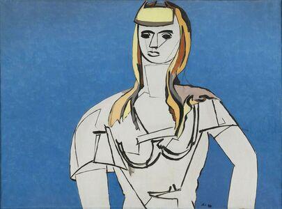 Jean Hélion, 'La Fille aux cheveux jaunes', 1944