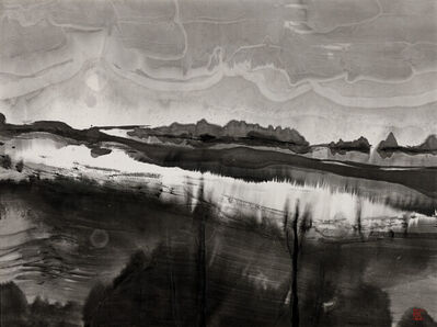 Gao Xingjian 高行健, 'Notte bianca', 1991
