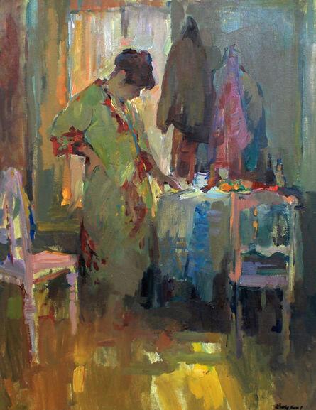 Hans Bayens, 'Woman in Kimono', Unknown