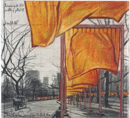 Christo, 'The Gates', 2004