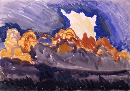 Charles Ephraim Burchfield, 'Forest Fire', June 7-1917