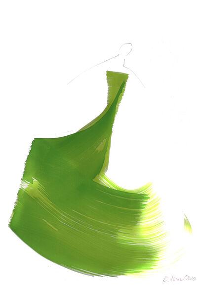 Bettina Mauel, 'The Green Dress 9', 2020