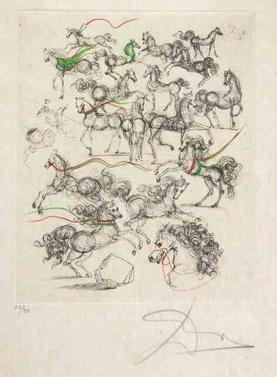 Salvador Dalí, 'Horses', 1970s