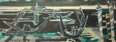 Françoise Gilot, 'Venetian Boatmen', 1974
