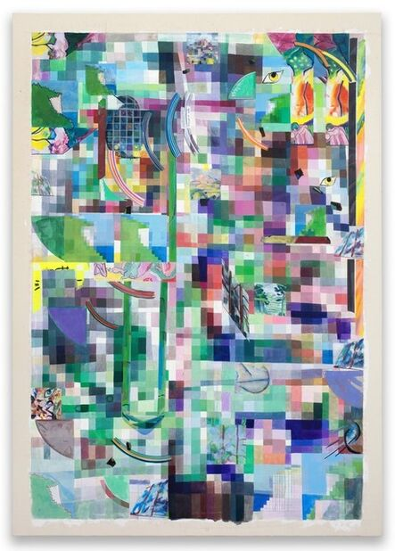Franklin Evans, 'selfportraitasseverini (Painting)', 2018