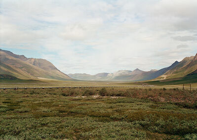 Victoria Sambunaris, 'Untitled (Alaskan pipeline at Atigun Pass), Brooks Range, Alaska', 2003