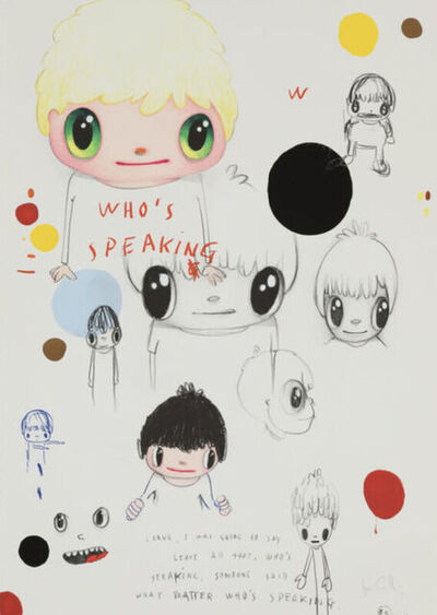 Javier Calleja, 'Who's Speaking...', 2019