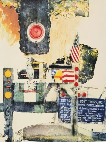 Robert Rauschenberg, 'Captiva Coda', 2003
